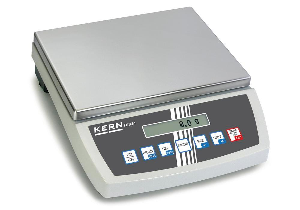 KERN premium bench scale FKB, up to 36 kg, d = 0.2 g