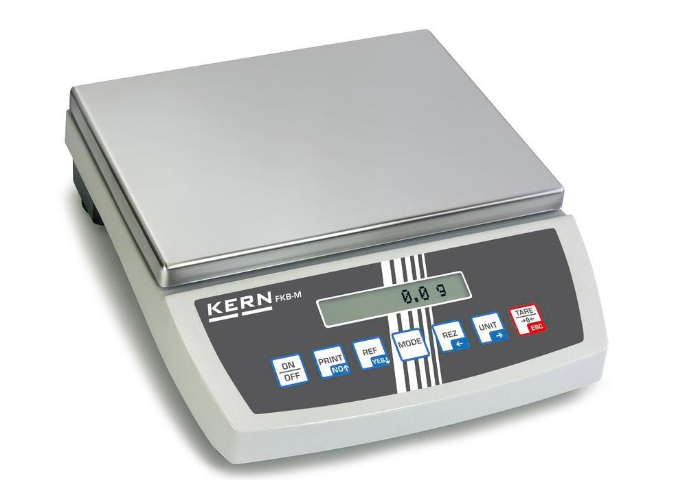 KERN premium bench scale FKB, up to 6 kg, d = 0.02 g - 1