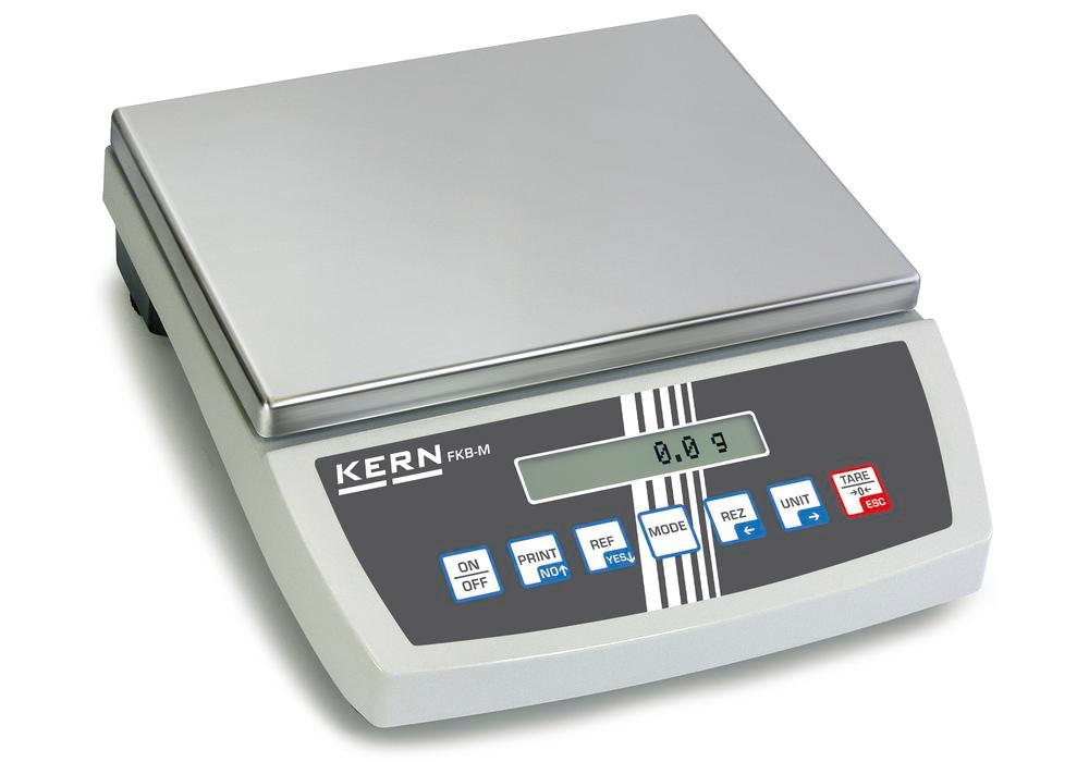 KERN premium bench scale FKB, up to 65 kg, d = 0.5 g