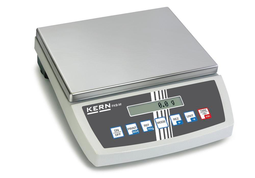 KERN premium bench scale FKB, up to 8 kg, d = 0.05 g - 1