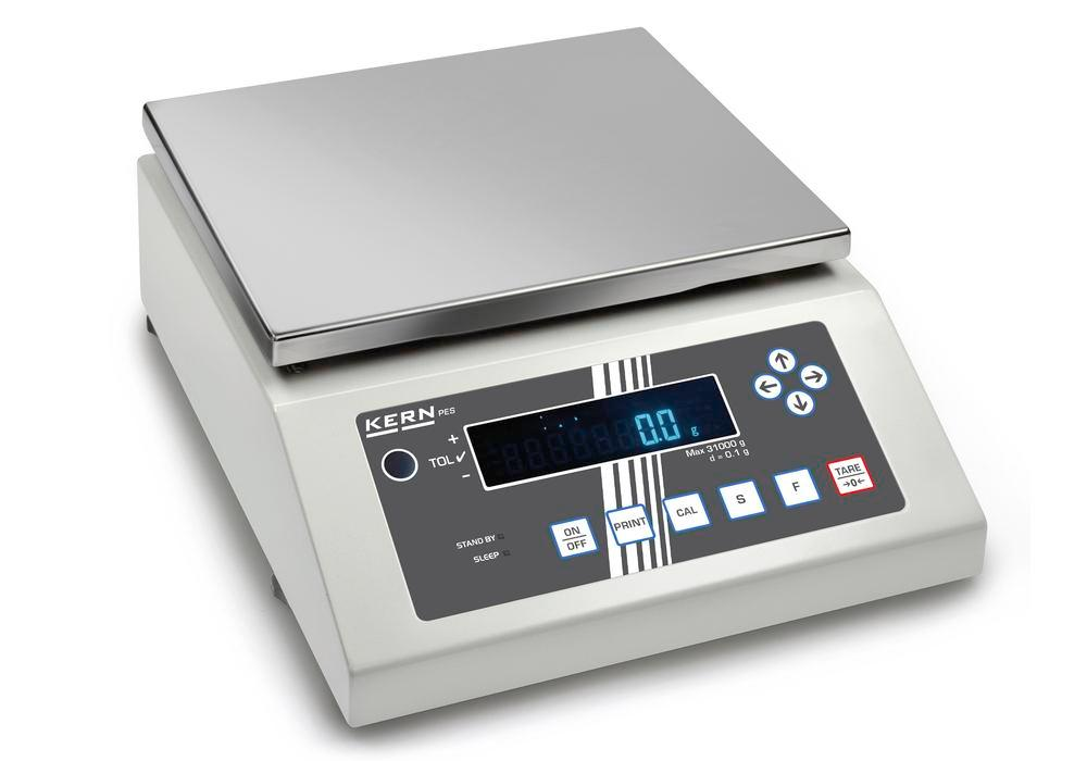 KERN Premium industrial and precision balance PEJ, verifiable, up to 4.2 kg