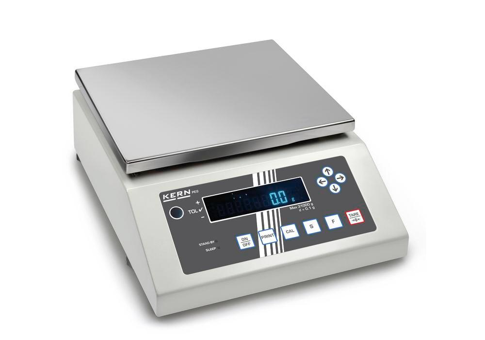 KERN Premium industrial and precision balance PES, up to 15 kg