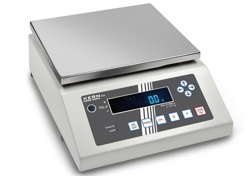 KERN Premium industrial and precision balance PES, up to 2.2 kg