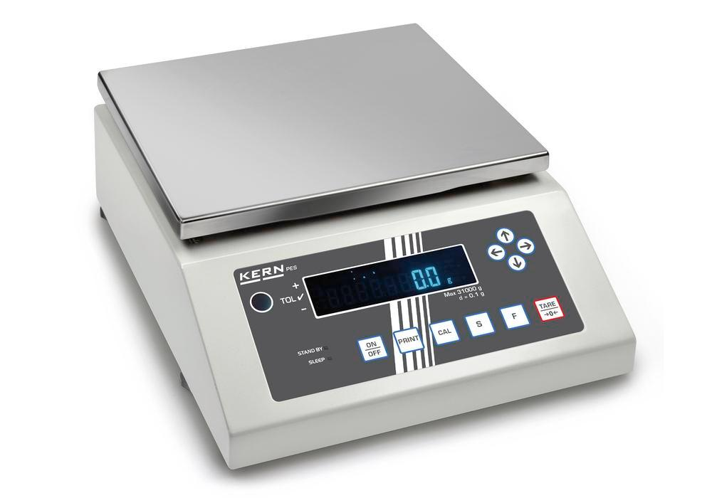 KERN Premium industrial and precision balance PES, up to 6.2 kg - 1