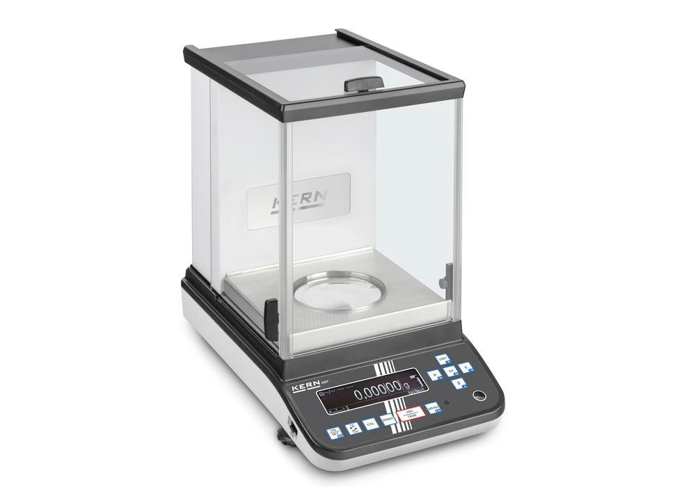 KERN premium two-range analytical balance ABP, verifiable, up to 120 g