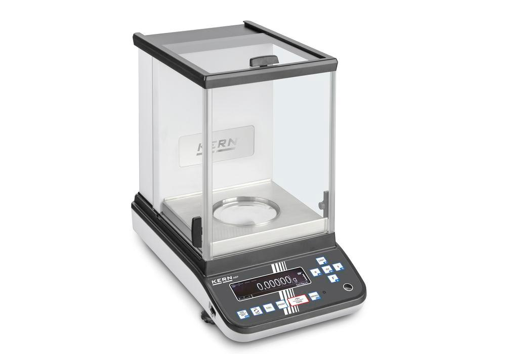 KERN premium two-range analytical balance ABP, verifiable, up to 200 g