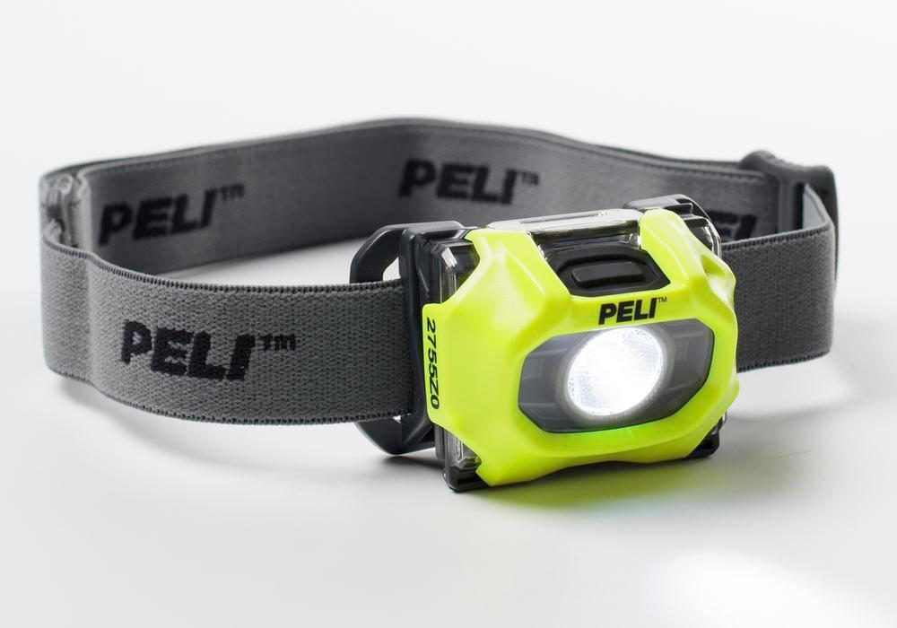 LED head torch for Ex zone 0, up to 72 Lumen brightness, with flashing light