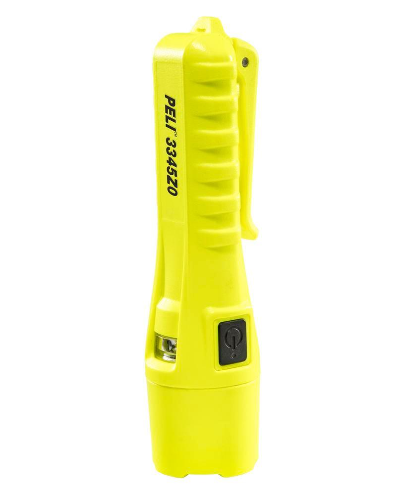 LED torch for Ex zone 0, with automatic light sensor