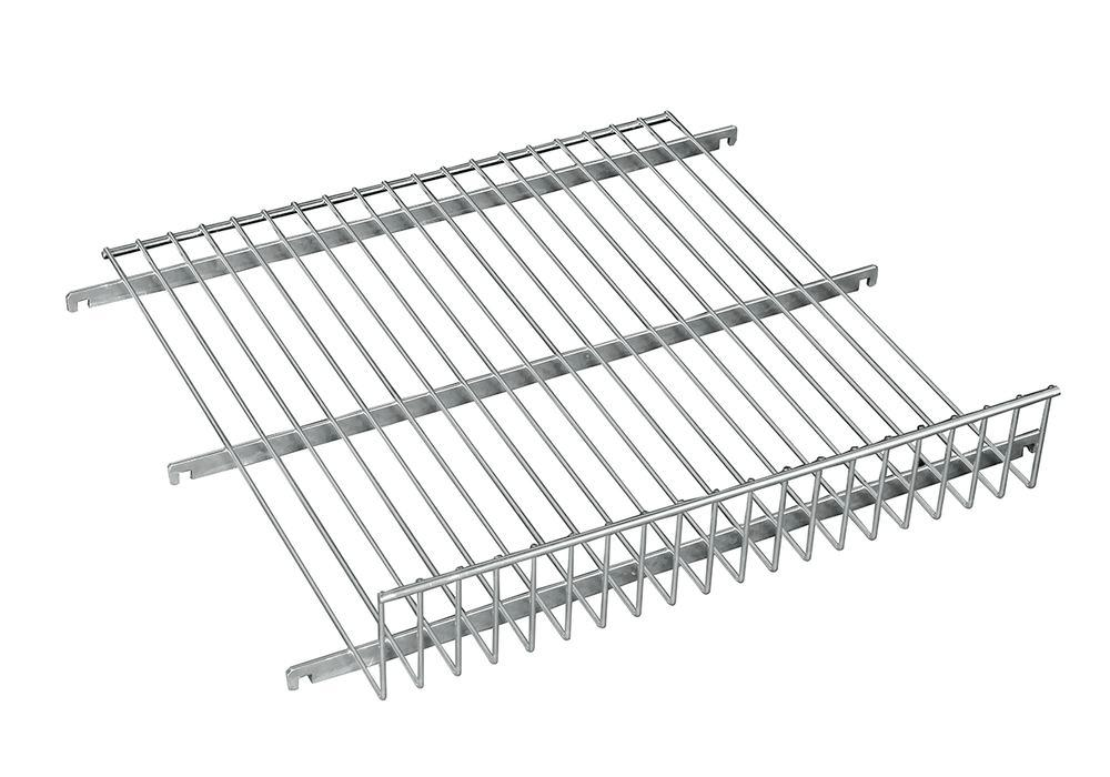 Mesh shelf for steel roll box pallets 600 x 600 mm, with 100 mm edge