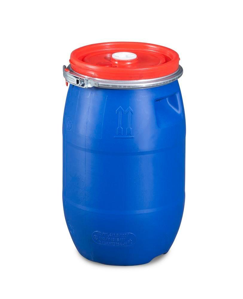 Plastic bung lidded drum with double approval, 30 litres - 2