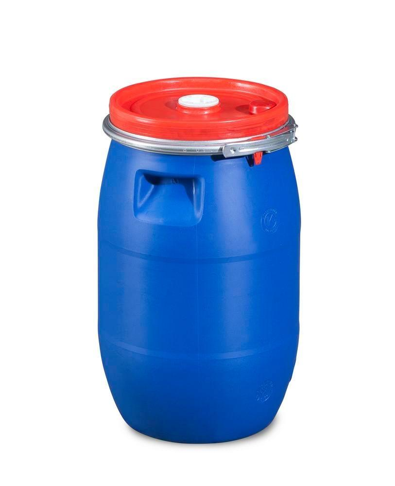 Plastic bung lidded drum with double approval, 30 litres