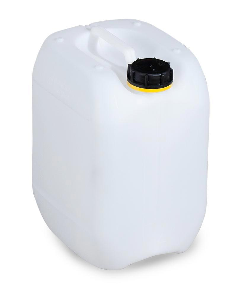 Plastic canister in polyethylene (PE), 10 litre, transparent natural - 1