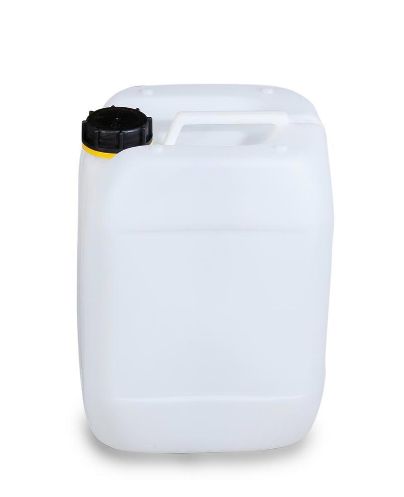 Plastic canister in polyethylene (PE), 10 litre, transparent natural