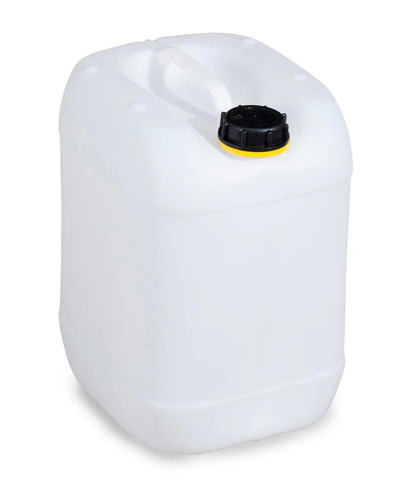 Plastic canister in polyethylene (PE), 20 litre, transparent natural - 1