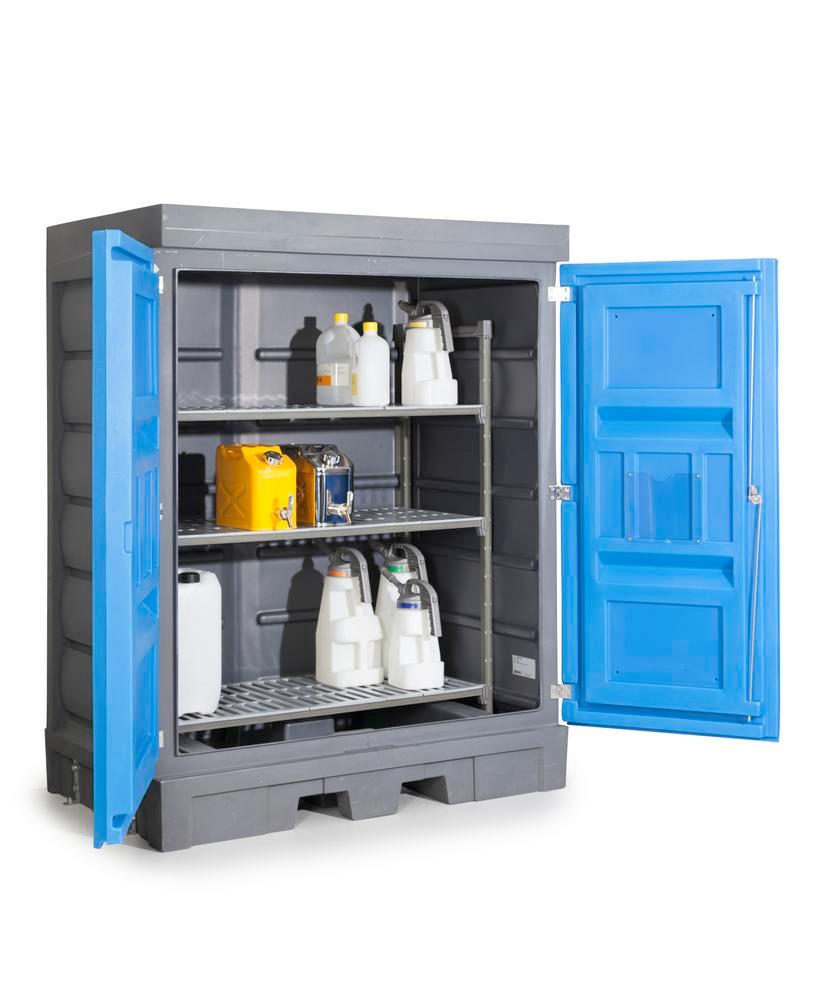 PolySafe Depot D, with plastic shelf, for small containers - 6