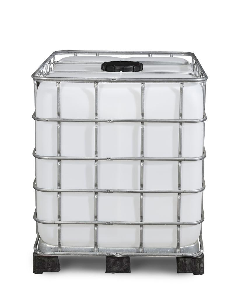 Recobulk IBC container, PE pallet, 1000 litre, NW225 opening, NW80 drain - 5