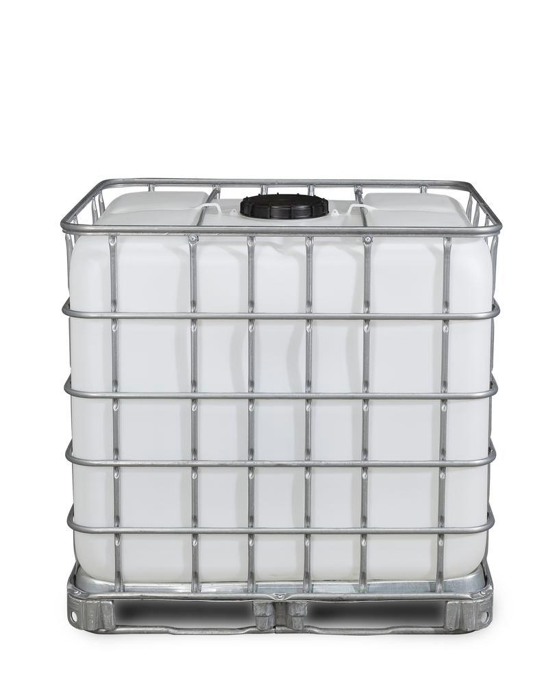 Recobulk IBC container, steel runner, 1000 litre, NW225 opening, NW80 drain - 4