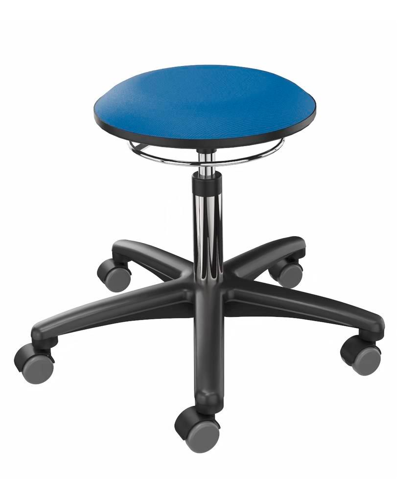 Work stool cover fabric blue - 1