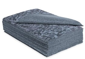 DENSORB Universal ab. materials, Camouflage fleece cloths, heavy, 2 layer, 800 x 500 mm, 50 pcs-w280px
