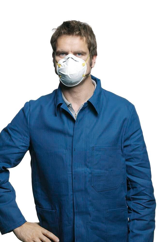 3M Fume protection mask Classic 8810, level of protection FFP2, 20 per pack - 1