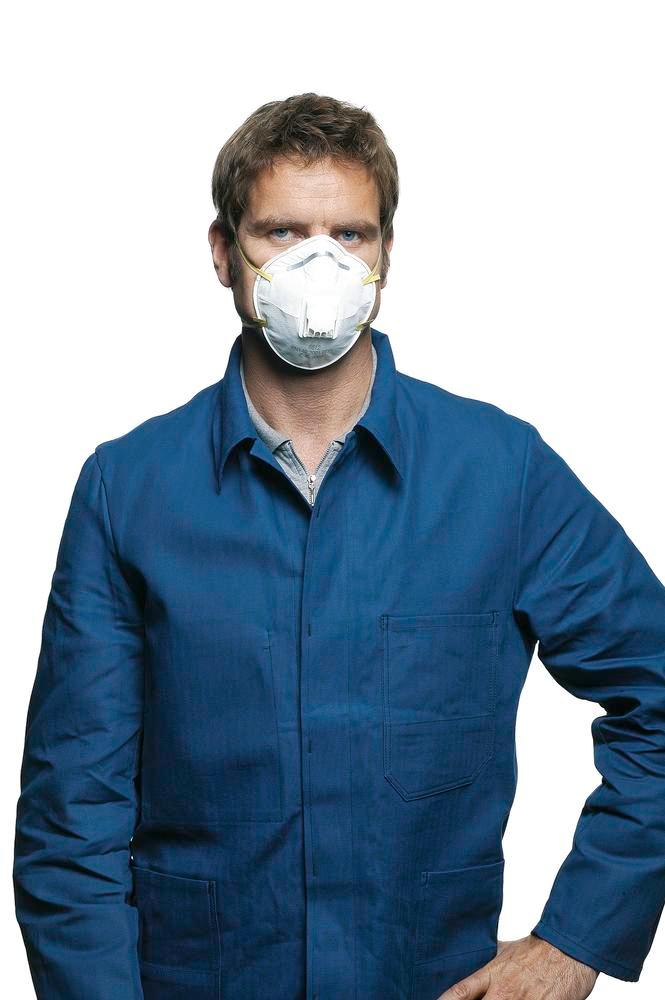 3M Fume protection mask Classic 8822, level of protection FFP2, 10 per pack