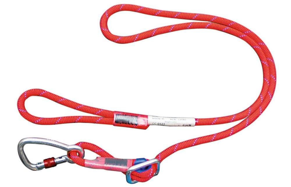 Adjustable lanyard SK 12, with carabiner