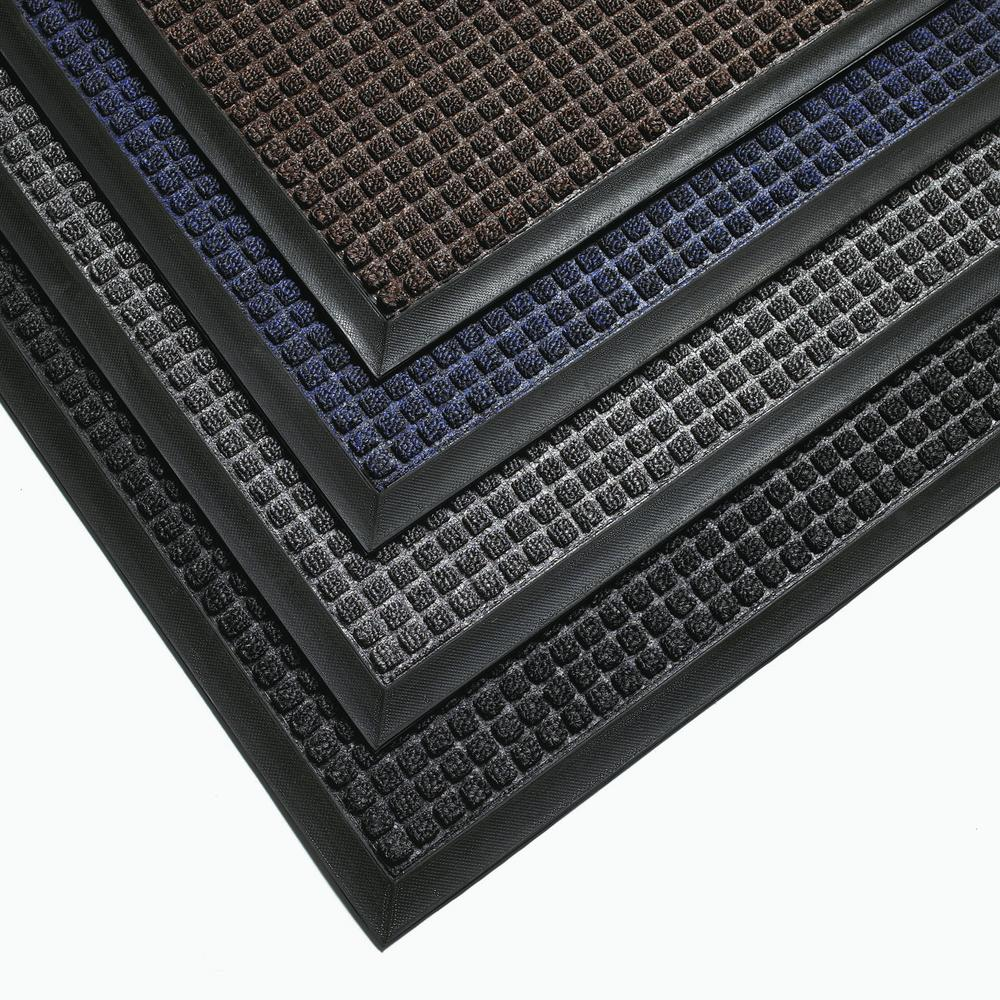 Dirt trapper mat GU 9.15 for indoor use, 90 x 150 cm, brown