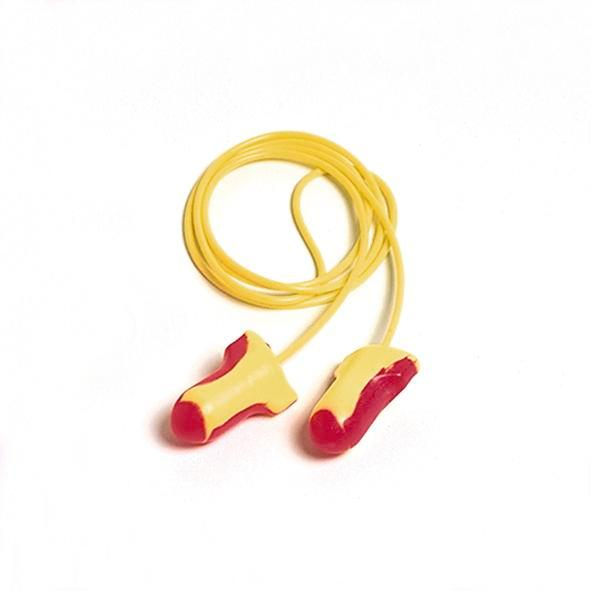 Ear Plugs LL 30, with band, SNR 35, size Universal, red/yellow, 100 pairs - 1
