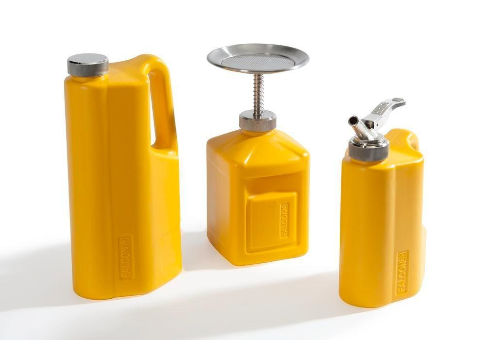 FALCON plunger cans in polyethylene (PE), 2 litre