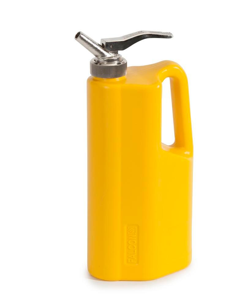 FALCON safety jug in polyethylene (PE), with fine dosing tap, 2 litres - 2