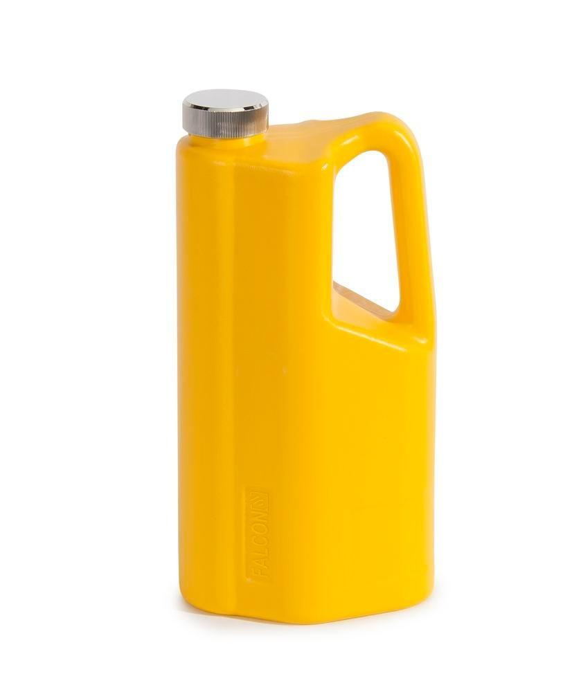 FALCON safety jug in polyethylene (PE), with screw cap, 2 litre - 3