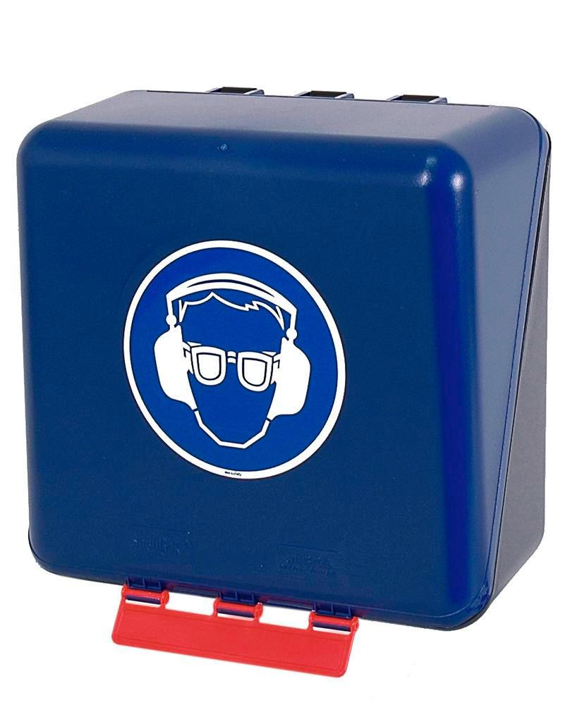 Midibox for eye/hearing protection, blue