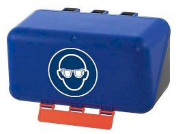 Minibox for eye protection, blue-w280px