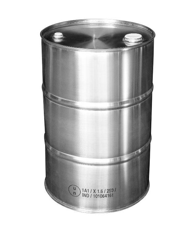 St. steel bung drum, 30 litre, 1.0 mm thick, 1.4301