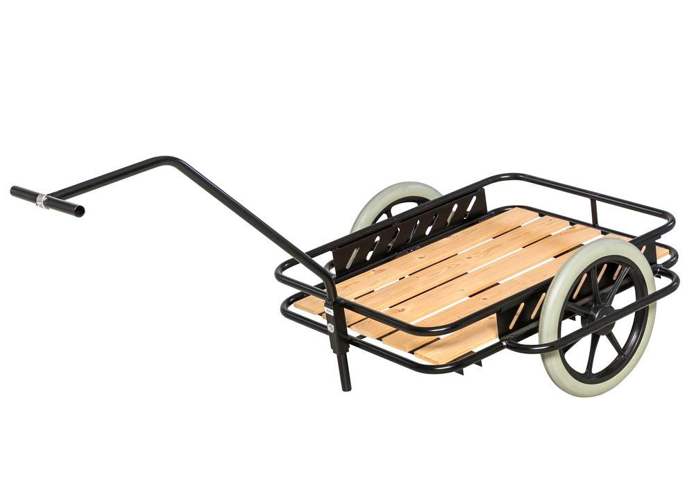 Trolley KM, 2 run-flat tyres Ø 400 mm, TK 150 kg
