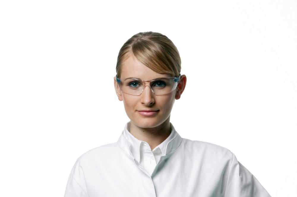 3M safety glasses 2820, Classic range, with clear polycarbonate lenses, AS/AF/UV