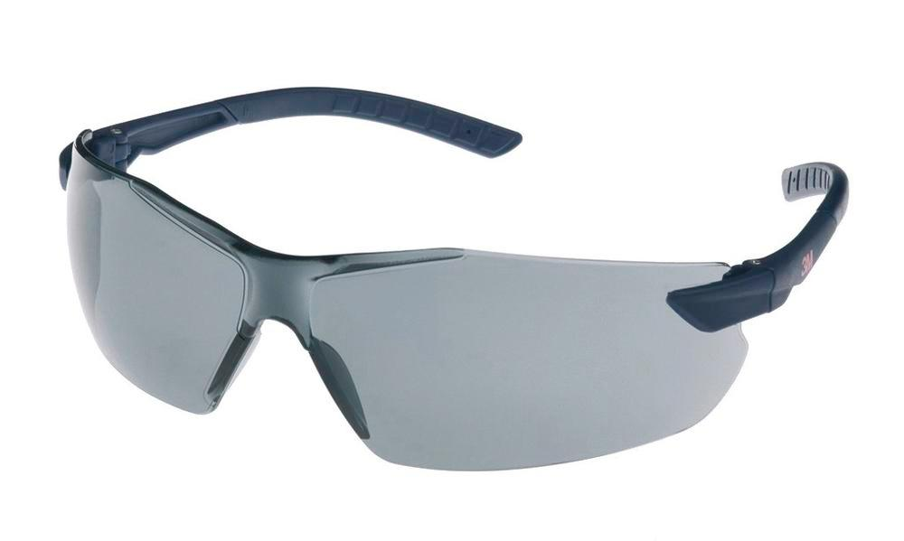 3M safety glasses 2821, Classic range, with grey polycarbonate lenses, AS/AF/UV