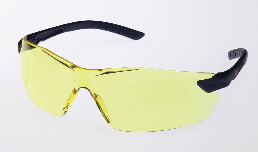 3M safety glasses 2822, Classic range, with yellow polycarbonate lenses, AS/AF/UV
