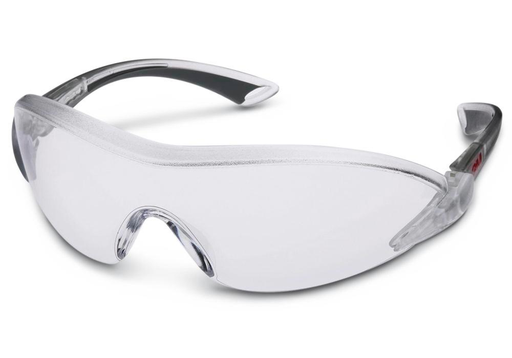 3M safety glasses 2840, Comfort range, with clear polycarbonate lenses, AS/AF/UV