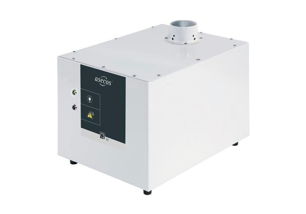 asecos air extraction monitoring module Model CL with volumetric flow monitoring