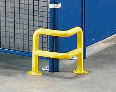 Corner protector 90°, 350 x 300 mm, yellow