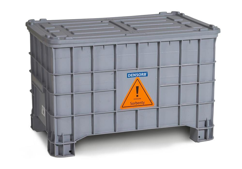 DENSORB Emergency Spill Kit in Storage Box with Lid, application OIL - 4
