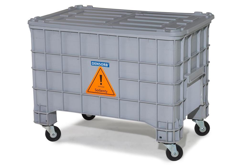 DENSORB Emergency Spill Kit in Storage Box with Lid, application UNIVERSAL - 2