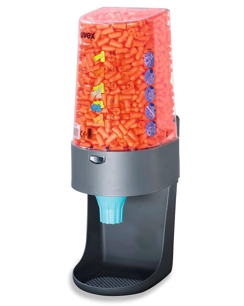 Dispenser for uvex disposable hearing protection plugs for 600 pairs of earplugs - 2
