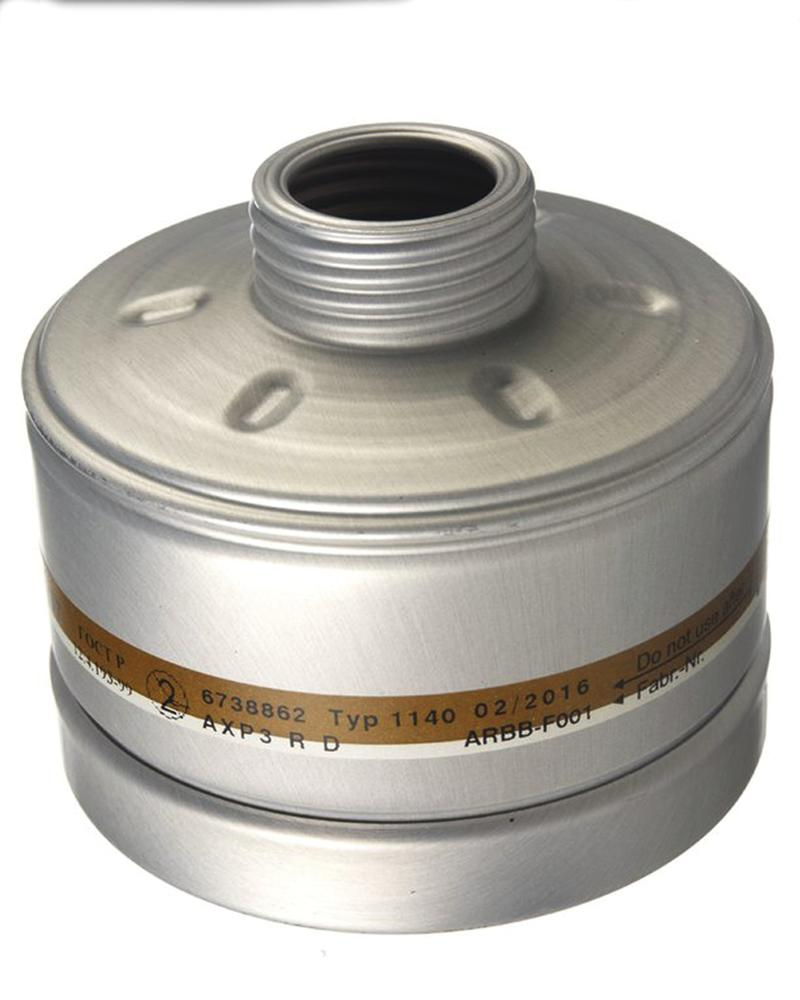 Dräger combination filter AX-P3, with standard round thread RA, for X-plore 4000/6000 series - 1
