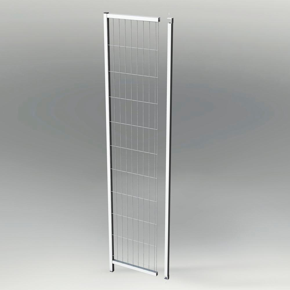 Partition wall system Easyline panel frame section H 2200 mm - 1