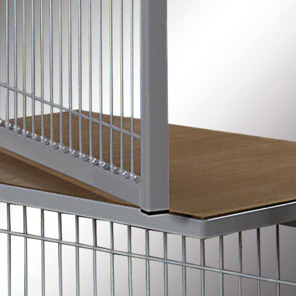 Partition wall system Easyline service window with shelf 1000 mm - 1