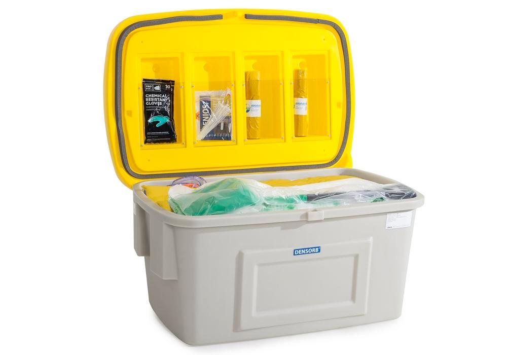 Refill Kit for DENSORB Emergency Spill Kit in Safety Box SF400, application SPECIAL