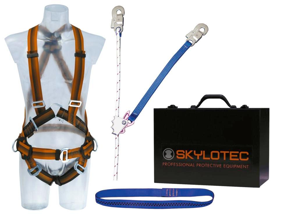 Safety harness Comfort set EXTRA, including harness, fall arrest system - 1