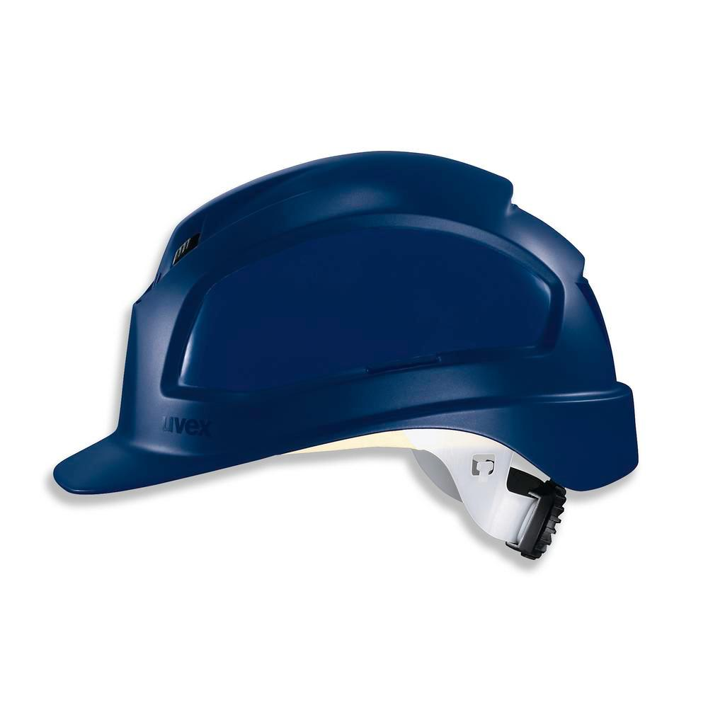 Safety helmet uvex pheos B-WR 9772, 52 - 61 cm EN 397 colour blue - 1
